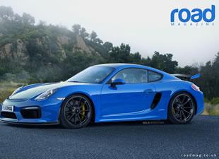 İşte Porsche'nin cep roketi Cayman GT4