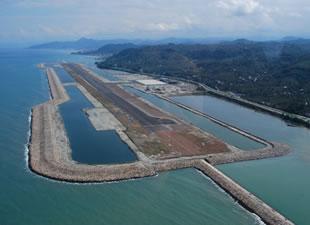 Türkiye'nin ikinci denize dolgu havalimanı Rize'de inşa edilecek