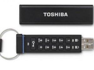 Toshiba şifreli USB üretti