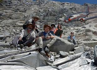 Kaybolan uçak 54 yıl sonra And Dağları'nda bulundu
