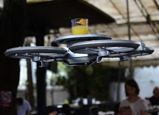 Garsonların yerini Drone'lar alacak