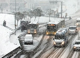Kar yağışı İstanbul'u ne zaman terkedecek?