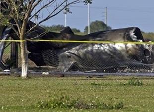 Florida'da uçak düştü: 4 kişi öldü