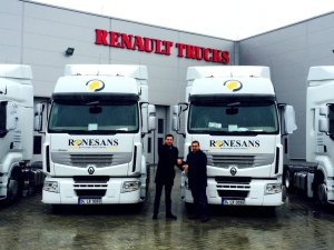 Rönesans Nakliyat, filosuna 4 adet Renault Premium kattı