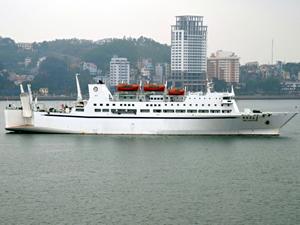 Çin'in ilk kruvaziyer gemisi sefere çıktı