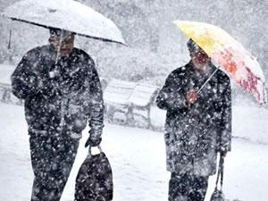 İstanbul'da yoğun kar yağışı uyarısı