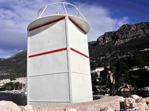 Kaş'ta tepki çeken deniz feneri yeniden yapılacak