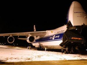 Dünyanın 2. büyük kargo uçağı Bursa'da