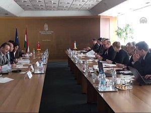 Türk-Macar Demiryolu Çalışma Grubu toplantısı yapıldı