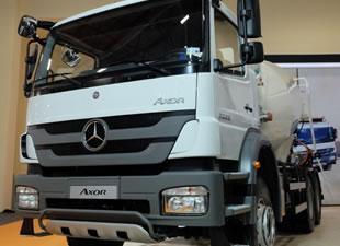 İnşaat sektörü Mercedes-Benz'den vazgeçmiyor