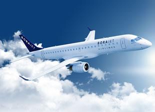 Borajet, yeni uçağını filosuna dahil etti