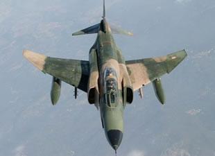 Bugüne kadar 12 RF-4E uçağı düştü