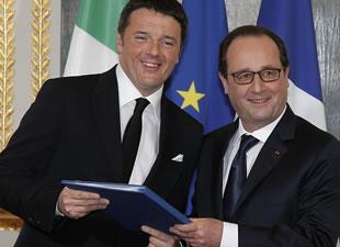 Hollande: Lyon-Torino demiryolu inşaatı 2016'da başlayacak