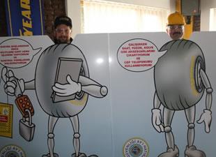 Goodyear'da iş güvenliği turnuvası