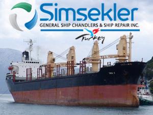 M/V THEA K isimli kuruyük gemisi, sökülmek amacıyla Şimşekler'e satıldı
