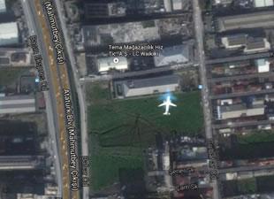 İstanbul'da şaşırtan uydu fotoğrafı!