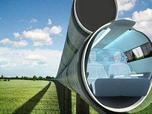 Hyperloop Yüksek Hızlı Tüp Tren 1300 km hıza çıkıyor