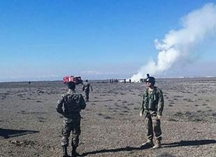 Konya'da askeri uçak düştü! 2 şehit var