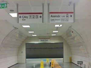 Kadıköy-Kartal raylı sistem hattı sızdırıyor