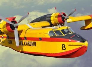 Yangın uçağı pilotunun maaşı 30 bin lira