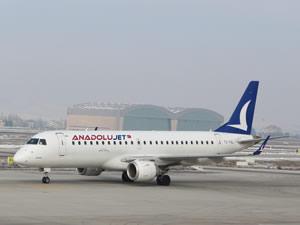2. Embraer E190, Anadolujet filosuna katıldı