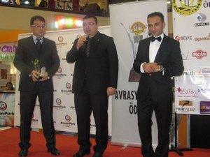 Marmaray Avrasya Kalite Ödülü'nü aldı