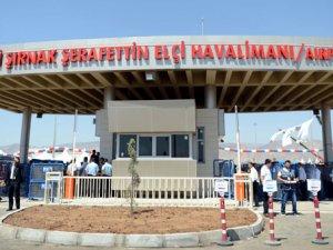 Şerafettin Elçi Havalimanı bölgeyi uçurdu