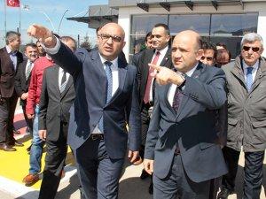 Bakan Işık, Cengiz Topel Havalimanı'nı inceledi