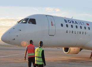 """Borajet uçağına """"Edremit"""" adı verildi"""