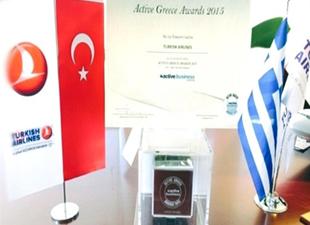 Türk Hava Yolları'na Yunanistan'da Ödül