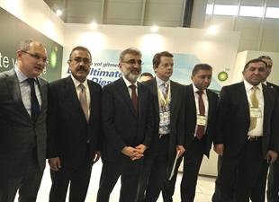 BP, Petroleum İstanbul Fuarı'nda  akaryakıt sektörünü ağırladı