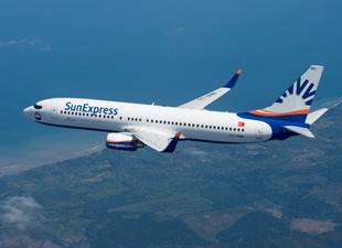 SunExpress Antalya'dan 7 yeni dış hatta daha uçuyor