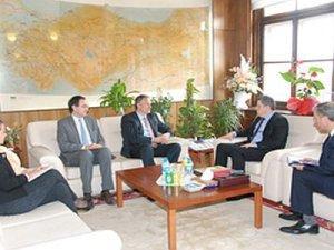Fransa Büyükelçisi'nden TCDD'ye ziyaret