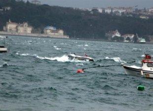 Marmara'da balıkçı teknesi battı