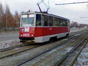 Moskova'da retro tramvay geçidi