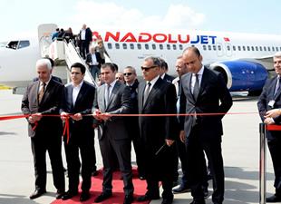 Anadolu Jet, Sabiha Gökçen-Şanlıurfa uçuşlarına başladı
