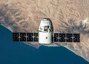 SpaceX'in Dragon uzay aracı UUİ'ye ulaştı