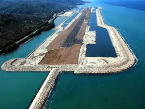 Denizdeki Ordu-Giresun havalimanı uçuşlara hazır