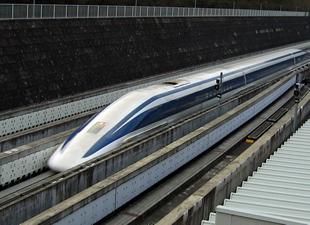 Japonyada Hızlı Tren 590 km/s Hızla Rekor Kırdı
