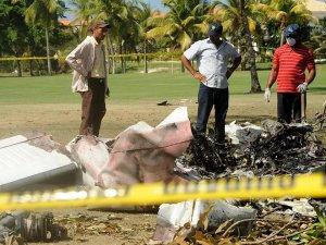 Dominik'te uçak düştü: 7 kişi hayatını kaybetti