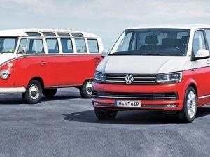 Volkswagen Transporter 6'ncı nesliyle yollara çıkıyor