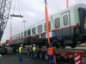 Irak Demiryolları için üretilen vagonlar yola çıktı