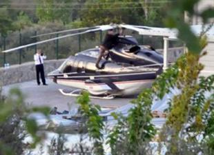 Zorlu'nun helikopteri zorunlu iniş yaptı