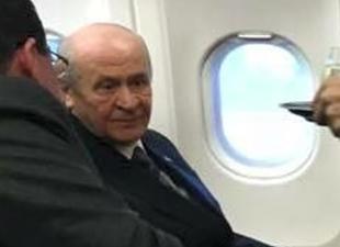 Devlet Bahçeli uçak korkusunu yendi