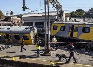 G. Afrika'da korkunç tren kazası