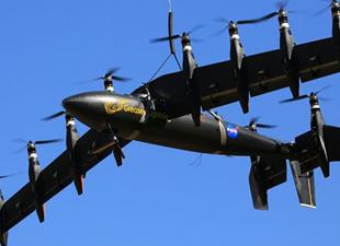 İşte NASA'nın 10 motorlu küçük uçağı