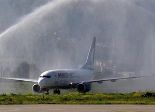 Cengiz Topel Havalimanı'ndan uçak seferleri tekrar başladı