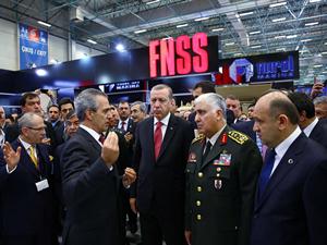 IDEF 2015 12. Uluslararası Savunma Sanayi Fuarı açıldı