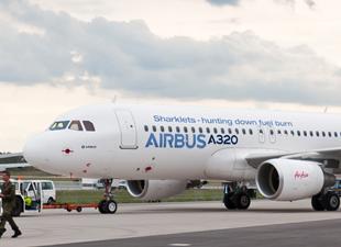 Airbus'a dev sipariş