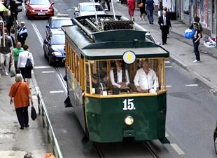 Konya'dan Saraybosna'ya 20 tramvay